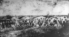 Lavoratori delle strade ferrate (esamponari) da Feltre, alla fine dell'800