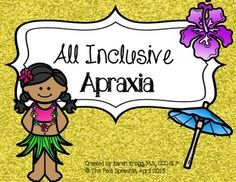 This low ink and no prep product is an all inclusive packet for apraxia!