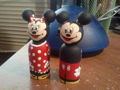 Little Wooden Mouse characters made by me if interested check out my Etsy.