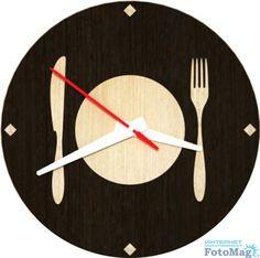 Настенные часы Good-master Пора обедать FotoMag.com.ua