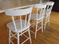 Thinking About Painting Our Barstools Diy Bar Stools Stool Chairs Dining