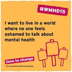 @TimetoChange #WorldMentalHealthDay #Aasra24x7HelplineFortheDepressedAndSuicidal912227546669TALK #WorldMentalHealthAwarenessMonth #WorldMentalHealthDay  We need a world without the stigma surrounding Mental Health #LoveChangesPeople