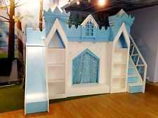 Disney Frozen Bed, princess castle bed, girls bed, princess bed,bed with slide