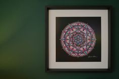 Mandala do casal obra vendida 2017 ilustração Brasil