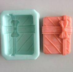 Cuboid Bow Flexible Silicone Mold/Mould For Handmade by HappyDIY, $6.99 Homemade Soap Bars, Homemade Soap Recipes, Soap Molds, Silicone Molds, Soap Making Recipes, Soap Bubbles, Soap Packaging, Home Made Soap, Bath Salts