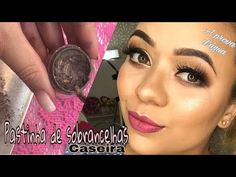 Pomada para sobrancelha + Potinho reciclável - YouTube Youtube, Facial, Make Up, Videos, Design, Makeup Course, Professional Makeup, Makeup Tips, Hair And Makeup