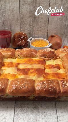 Deli Food, Tasty, Yummy Food, Mini Foods, Creative Food, Food Dishes, Food Videos, Love Food, Sweet Recipes
