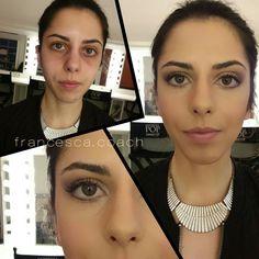 Make up correttivo  step by step #makeupcourse #training