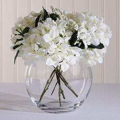 Buy LSA International Flower Bouquet Globe Vase, from our Vases range at John Lewis & Partners. Free Delivery on orders over Glass Globe, Glass Vase, Artificial Flowers And Plants, Vase Arrangements, Flower Vases, Silk Flowers, Hydrangea, Wedding Flowers, Bloom