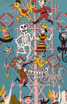 The Fabulous Firework Family - written & illustrated by James Flora (1955).