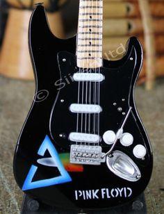 Miniature Replica Guitar - Pink Floyd   Fair Trade Gift Store   Siiren