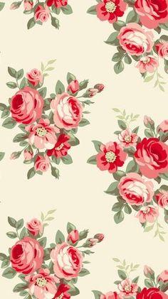 Vintage Diy, Vintage Floral Fabric, Decoupage Vintage, Decoupage Paper, Vintage Paper, Pastel Wallpaper, Flower Wallpaper, Wallpaper Backgrounds, Colorful Backgrounds
