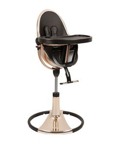 the fresco chrome special edition gold comes with a fresco chrome starter kit in midnight black. as the world's highest baby chair, fresco chrome's recline system, and easy up/down height adjustment allow baby to join the family at the dining Baby Needs, Baby Love, Cybex Platinum, Toddler High Chair, Baby Chair, Baby Necessities, Seat Pads, Baby Furniture, Cool Baby Stuff