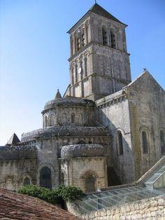 St-Pierre à Chauvigny. Vienne. Poitou-Charentes