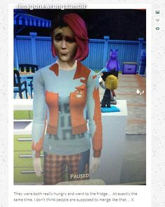Wat. #simsgonewrong -- This reminds me of Fringe