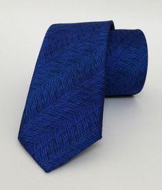 Sax Blue Mens Tie 6 cm (2,36 #handmadeatamazon #nazodesign