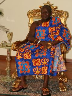 The King of the Ashantis - Asantehene HRH Otumfuo Osei Tutu II