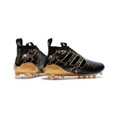 designer fashion 52aa7 64d2b Adidas ACE 17 Purecontrol chaussure de football au sol ferme noir or achat  en ligne
