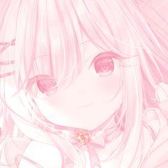 Cute Anime Profile Pictures, Cute Anime Pics, Anime School Girl, Anime Art Girl, Kawaii Art, Kawaii Anime, Pink Aesthetic, Aesthetic Anime, Pink Wallpaper Anime