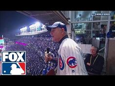 Bill Murray sings 'Take Me Out to the Ball Game' as Daffy Duck | 2016 WORLD SERIES ON FOX - YouTube