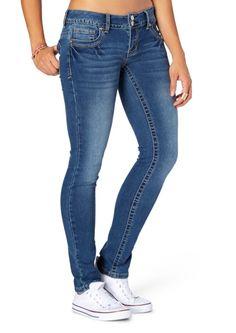 Sandblasted Brushed Skinny Jean in Short | Bottoms | rue21