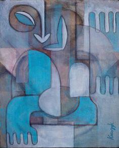 Hei Tiki by Henry Krauzyk Maori Symbols, Maori Patterns, Maori Designs, Cubism Art, New Zealand Art, Nz Art, Maori Art, Kiwiana, Decoration