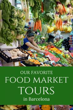 Explore Like a Local on These Fantastic Food Market Tours in Barcelona Barcelona Tours, Barcelona Food, Barcelona Travel, Spanish Cuisine, Spanish Food, Like A Local, Whole Foods Market, Different Recipes, Spain Travel