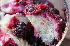 Gluten Free Casually: Berry Cobbler. This recipe has been in our family for generations. Slightly sweeter and fluffier than biscuit dough but not quite a cake. My absolute FAVORITE dessert! Can use any type of fruit.