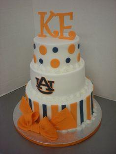 Auburn Cake Designs | Auburn Cake by Fiesta Cakes....WAR EAGLE!!! by kathie
