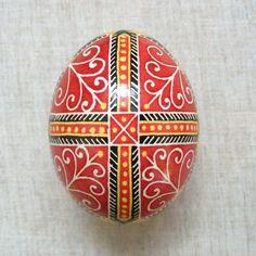 Ukrainian Pysanka - Vesna. Easter Egg. Real Chicken Egg. Made by me!