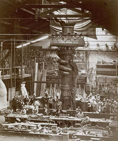 old construction New York | 1876 Statue of Liberty Torch Construction