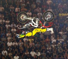 Backflip lazy boy. Compliments of Pastrana the inventor of the lazy boy