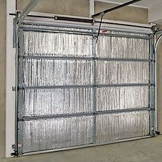 Garage door insulation cuts energy bills and street noise. Here's How To Insulate A Garage Door by Sherri32