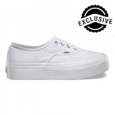 Vans Authentic Platform Schuhe True White
