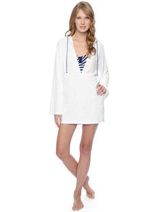 Splendid Official Store, Terry Coverup, white, Womens : Swim, SP01704