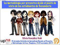 La metodología por proyectos desde el punto de vista de los estudiantes de Secundaria
