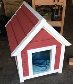How To Build A Dog House Step By Step * might do this for individual duck houses