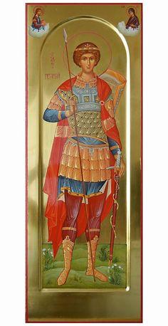 Greek Icons, Church Interior, Byzantine Icons, Orthodox Christianity, Orthodox Icons, All Icon, Saint George, Medium Art, Religion