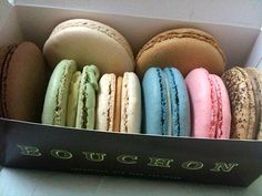 On your way up-valley, pick up some macarons from Bouchon Bakery in Yountville