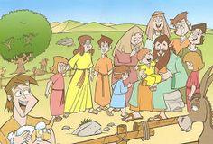 ME ABURRE LA RELIGIÓN: JOB Sunday School, Storytelling, Family Guy, Bible, Fictional Characters, David, Art, Color, Ideas