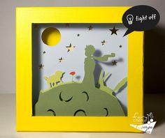 The little prince night light Nursery decor unique special