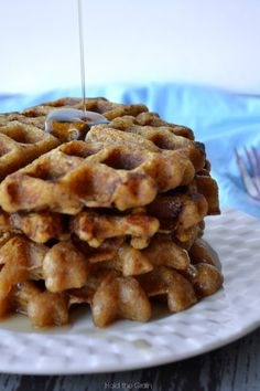 plantain waffles - AIP friendly, Paleo friendly, grain free!