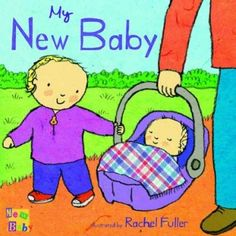 books about having another child - this one shows mummy breastfeeding the new baby - excellent!
