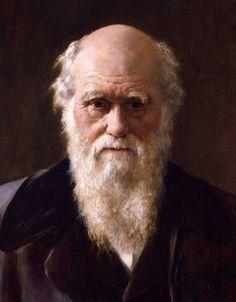 John Maler Collier. Portrait of Charles Darwin (detail). 1883.