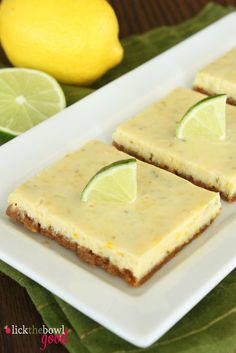 Triple-Citrus Bars