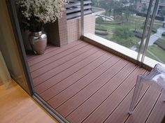 where can i find wood plastic flooring in trinidad,where can i find plastic composite flooring to replace my wood baccony Composite Flooring, Balcony Flooring, Composite Decking, Outdoor Flooring, Wpc Decking, Outdoor Decking, Flooring Ideas, Decking Supplies, Wood Deck Designs