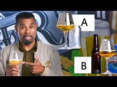 In this episode of 'Price Points', Epicurious challenges beer expert Garrett Oliver, Brewmaster of Brooklyn Brewery, to guess which one of two beers is more . Pilsner Beer, Lager Beer, Beer Brewing, Beer Types, Brooklyn Brewery, Cheap Beer, Home Brewery, Lesage