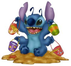 Free Disney's Lilo and Stitch Clipart and Disney Animated Gifs - Disney Graphic Characters Brought to You by Triplets And Us