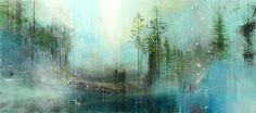 """""""Wooded Retreat"""" 32x72 inches by Steven Nederveen"""
