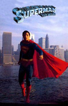 Superman: The Movie Movie Poster Superman Movies, Superman Family, Dc Movies, Superhero Movies, Marvel Movies, Superman Man Of Steel, Batman And Superman, Marvel Comics Superheroes, Marvel Dc